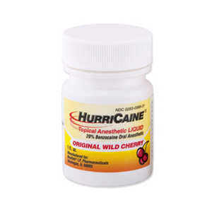 HurriCaine Topical Anesthetic Liquid 1oz.