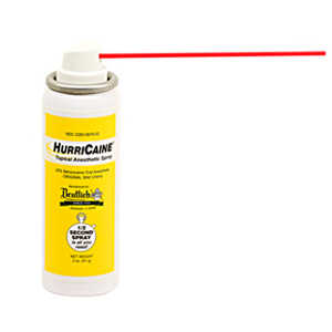 HurriCaine Topical Anesthetic Spray 2oz