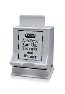 Anesthetic Cartridge Dispenser & Warmer, Heats up to 60 Cartridges