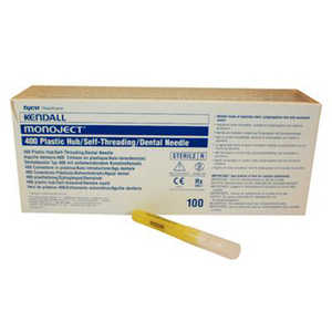 Monoject Needles #400 Plastic Hub 100/box