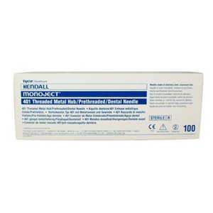 Monoject Needles #401 Metal Hub 100/box