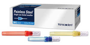 Painless Steel Injection Needles 100/box