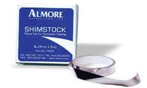 Shimstock Metal Foil Strips, pkg of 300