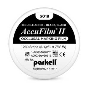 AccuFilm II Double Sided Articulating Paper