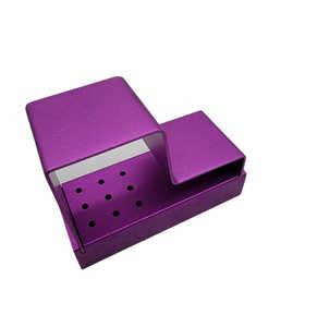 Aluminum Bur Block Purple (9 FG, 9 HP)