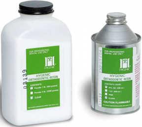 Hygenic Orthodonitc Resin Clear 1lb. P&L KIT