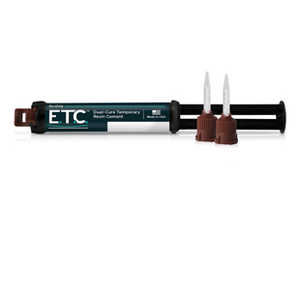 E.T.C. Easy Temporary Cement 5ml Syringe, 10 Tips