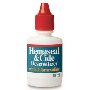 Hemaseal & Cide Desensitizer with 4% Chlorhexidine