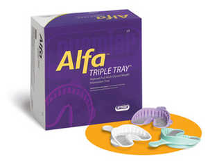 Alfa Triple Tray Disposable Impression Trays
