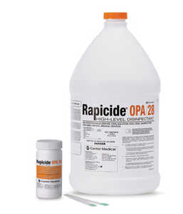 Rapicide OPA/28 Disinfectant & Test Strips