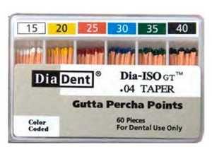 Gutta Percha ISO-GT .04 Taper (60) (Diadent)