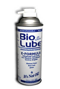 Bio Lube E Formula 500ml Aerosol Can for Electric Handpiece Contra Angles