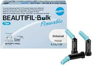 Beautifil Bulk Flow Tips (20) (Shofu)