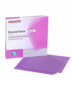 Rubber Dental Dam Non Latex Peppermint