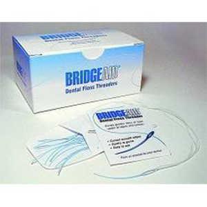 Bridgeaid Dental Floss Threaders, 1000/Pkg