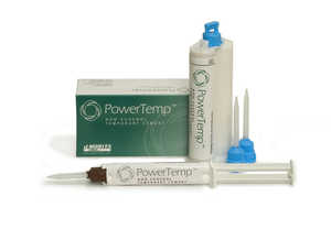 PowerTemp Non-Eugenol Cement 50ml Cartridge & 10 Blue XX-Small Mixing Tips