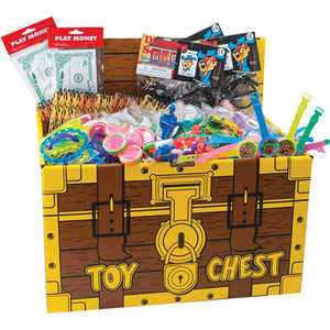 Toys Treasure Chest w/ 200 Pieces
