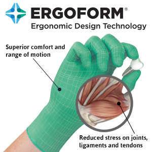 Micro-Touch® Denta-Glove® Green Neoprene Exam Gloves, 100/Box