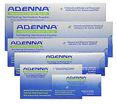 Adenna Self-Sealing Sterilization Pouches