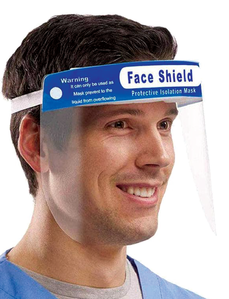 Disposable Face Shield with foam Each