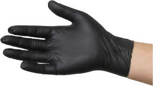 Sky Choice Nitrile Black Gloves (100)