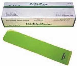 ClikRayBIO Green Bags Large 40m (500)