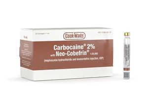 Carbocaine 2% with Neo-Cobefrin Cook-Waite 1.7ml 50/box