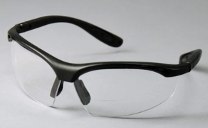 Kool-Daddy Bifocal Blk/Clear 2.0 Diopter