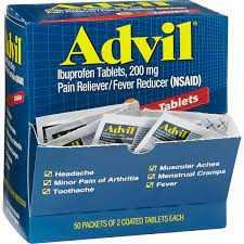 Advil Tablets (50 Pack Of 2)