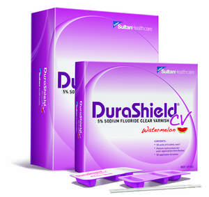 DuraShield CV 5% Sodium Fluoride Clear Varnish