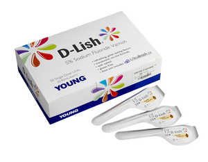 DLish Fluoride Varnish