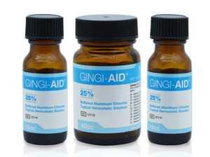 Gingi-Aid Alum Chloride Sol 25% (Gingi-pak)