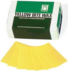 Bite Wax Sheets Yellow (Coltene)