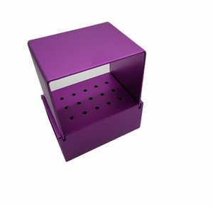 Aluminum Bur Block Purple (15HP)