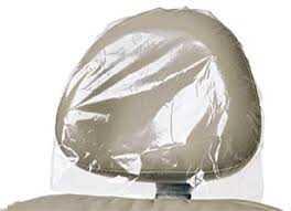 Sky Choice Head Rest Covers Plastic (250)