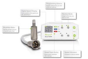 E600P Portable Electric Handpiece System