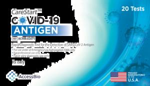 COVID-19 Antigen Test Kit, 20/Box