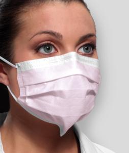 Isofluid Earloop Mask w/Secure Fit Level 1 (50)