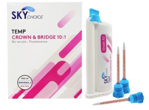 Temporary Crown & Bridge Material 10:1 Ratio 50ml (76gm) Cartridge