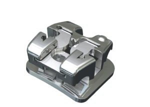 Sky Clip+ Dual Control Self Ligating Passive Brackets MBT .022