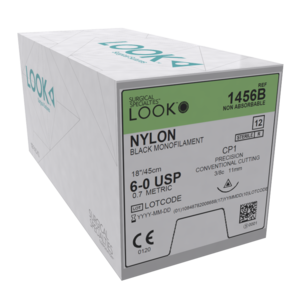 Look Sutures Nylon Pack of 12