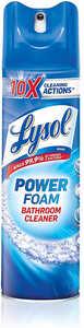 Lysol Foam Bathroom Cleaner 24 oz each