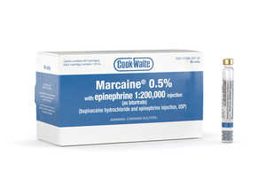 Marcaine (Bupivacaine) 0.5% With EPI 1:200,000 1.8ml 50/box