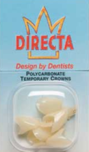 Directa Poly Molar Crown pack of 3