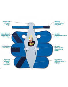 Papoose Arm Straps (4) Reg/Lg