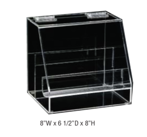 Plier Rack With Cover Clear