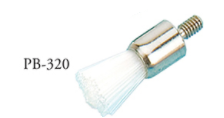 Prophy Brushes Screw-On Flat (144)