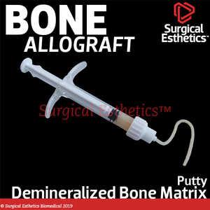 Demineralized Putty Allograft (DBM)