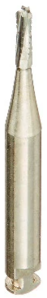 Carbide Bur RA 1557 Straight Round End X-Cut Fissure pack of 100
