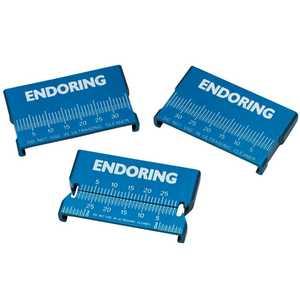 Endoring II Metal Ruler Autoclavable